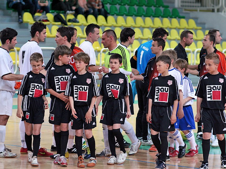 Play-off Šped-Trans Levice vs Slov-matic FOFO BA 1:3